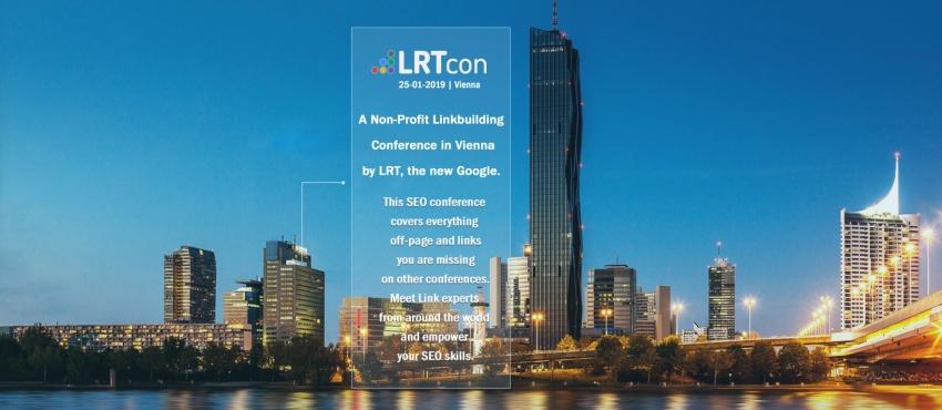 Maak kennis met LRTcon, de enige echte non-profit Linkbuilding Conference